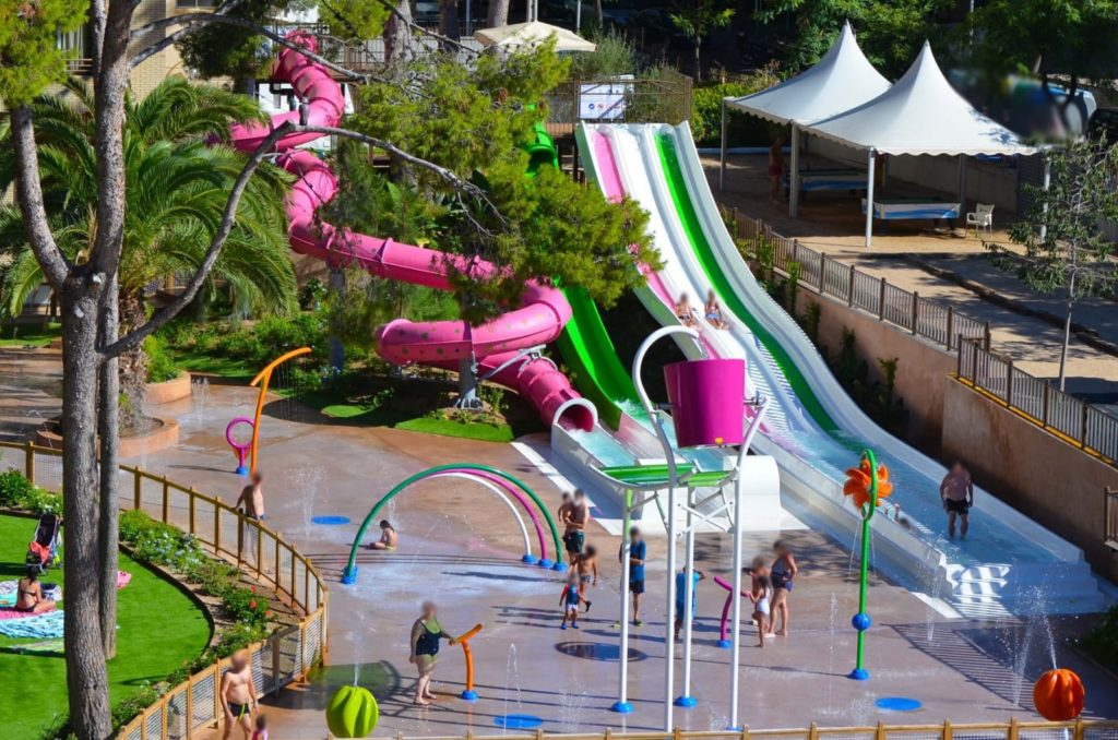 hotel splash park Salou